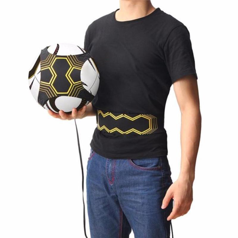 Регулируемый футбольный кик-тренажер, высшее качество, тренировочное оборудование для футбольного мяча, эластичный тренировочный пояс, спортивные аксессуары для футбола