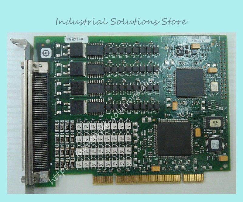 Original PCI-6515 canal de comunicación Teardown DAQ de la tarjeta de datos 100% prueba de calidad perfecta