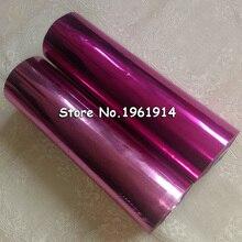 1 рулон 21 см светильник розовый красный горячее тиснение фольги DIY позолоченная бумага пвх визитная карточка тиснение фольги s