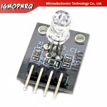 10 قطعة الالكترونيات 4pin RGB وحدة KY-016 ثلاثة ألوان 3 اللون RGB LED وحدة الاستشعار لاردوينو لتقوم بها بنفسك كاتب عدة KY016