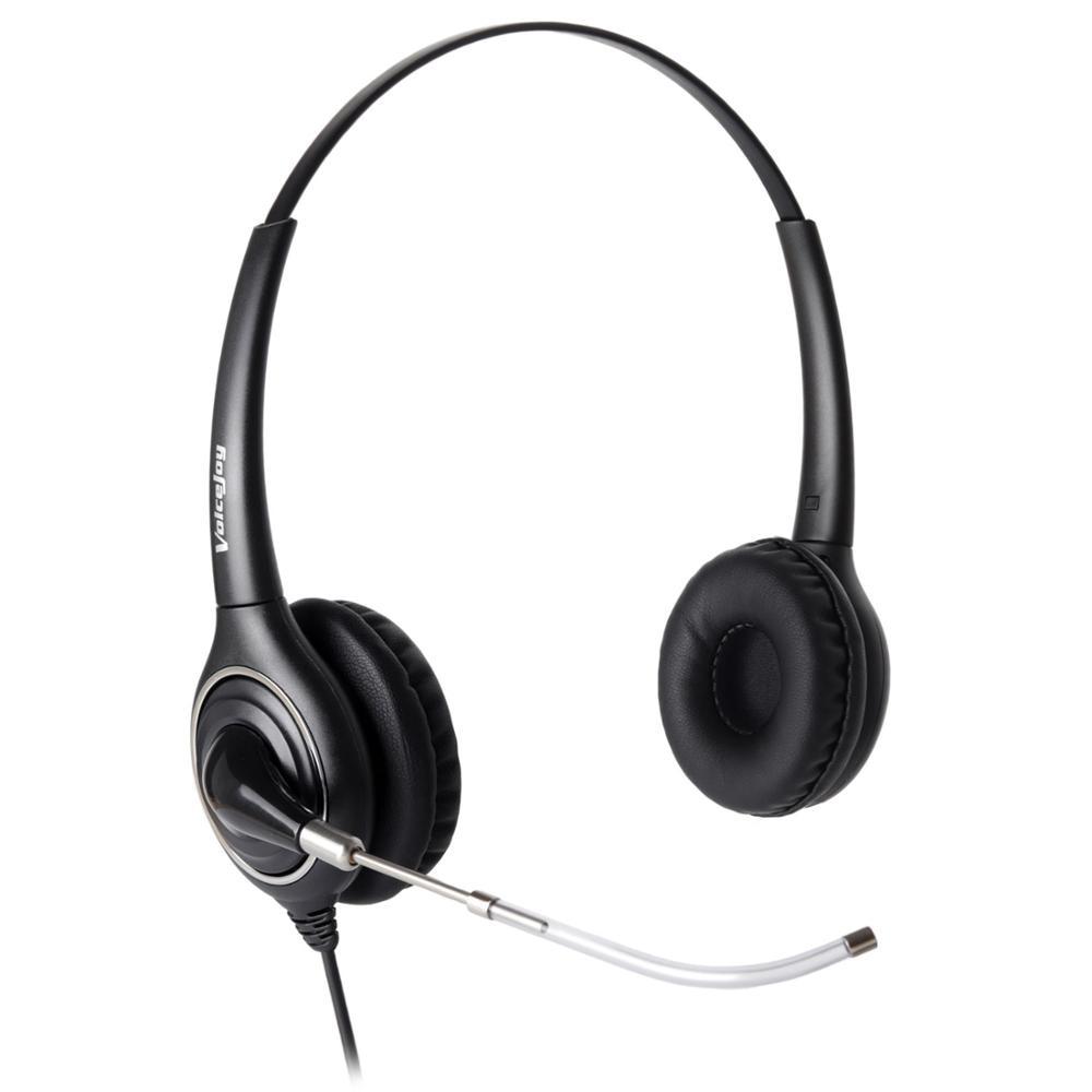 Home/Büro Headset mit Mic für Avaya 2400 4600 Serie, aastra Allworx Adtran Alcatel Lucent AltiGen Comdial Digium Mitel handys