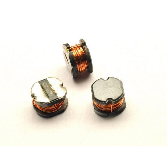 Envío Gratis 100pc inductor smd CD75 22UH 33UH 47UH 68UH 1.6A bobinado SMD Inductor de potencia de alambre enrollado 1.6A