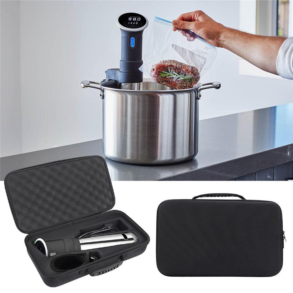 Estuche protector duro de EVA para caja de almacenamiento para accesorios de bolsas de máquina de cocina de precisión con Bluetooth Sous Vide