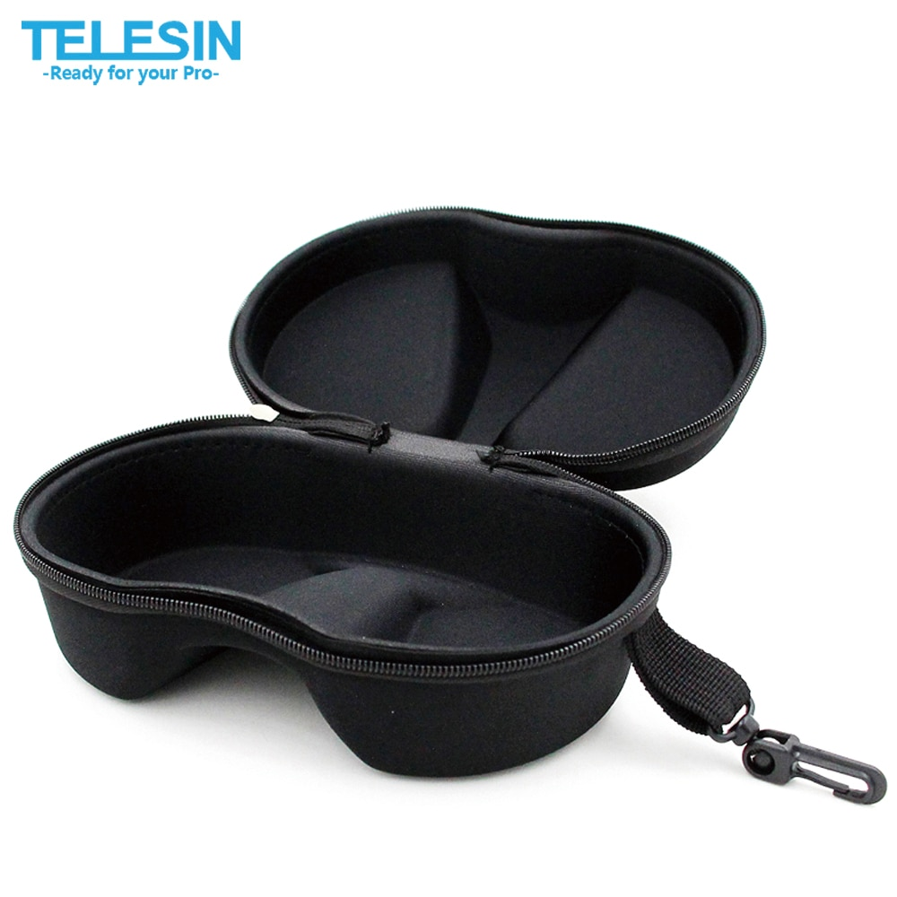 TELESIN GoPro чехол для хранения маски для дайвинга сумка для GoPro 6 5 4 3 2 1, Xiaomi YI 4K Экшн-камера для плавания трубка очки маска
