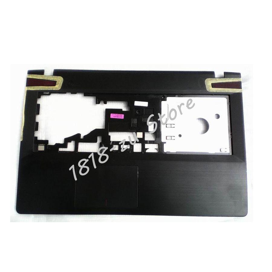 Yaluzu novo para lenovo ideapad y500 y510 y510p palmrest teclado moldura capa superior ap0rr00050 capa superior palmrest sem touchpa