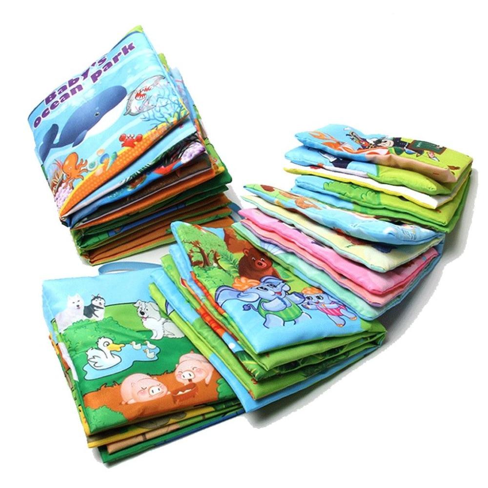 10 страниц Новая красочная развивающая разворачивание деятельности книга Розничная торговля Детские игрушки младенческие дети раннего раз...