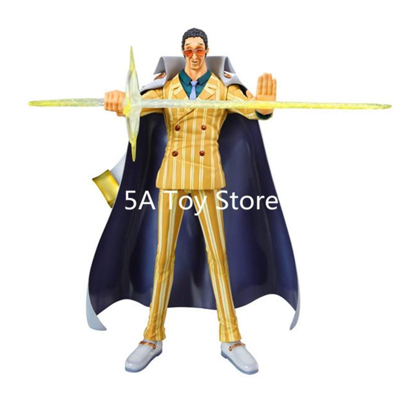 Anime One Piece P.O.P Marine Admiral Borsalino PVC Action Figure Collection Model Doll Toys 26CM
