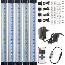 LED lampes de bureau bande smd 2835 15 W 12 V rapide sans soudure connexion barre de LED barre de lumière LED pour lampe décriture comprennent kit (alimentation)