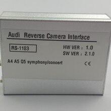 Araba Aksesuarları Ön Kamera Arka kamera Video Arayüzü Audi Q5 2014 Senfoni Konser Radyo Park Yönergeleri Ile