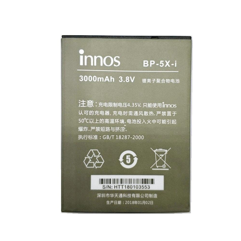 QiAN SiMAi 1PCS Original Innos D10 3000mAh BP-5X-i Battery For Highscreen Boost 2 II SE innos D10 D10CF High Quality