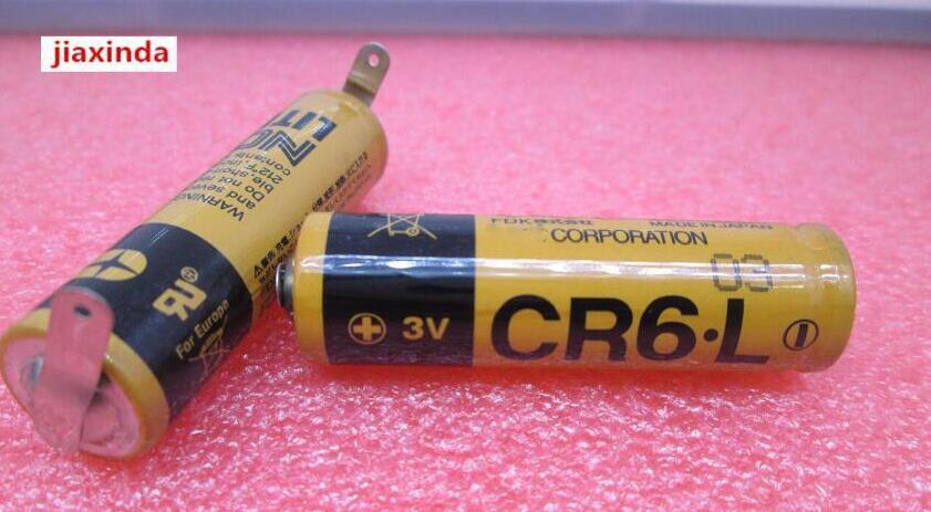 Jiaxinda HOT nuevo CR6.L 3 V batería de litio PLC instrumento de control industrial con baterías de iones de litio