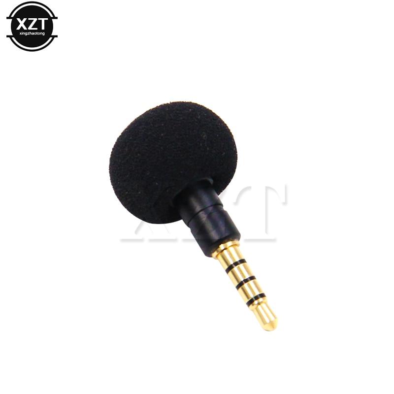 3,5 мм Джек мини всенаправленный микрофон мобильный телефон смартфон для записи для iPad iPhone5 6s 6plus портативный новейший