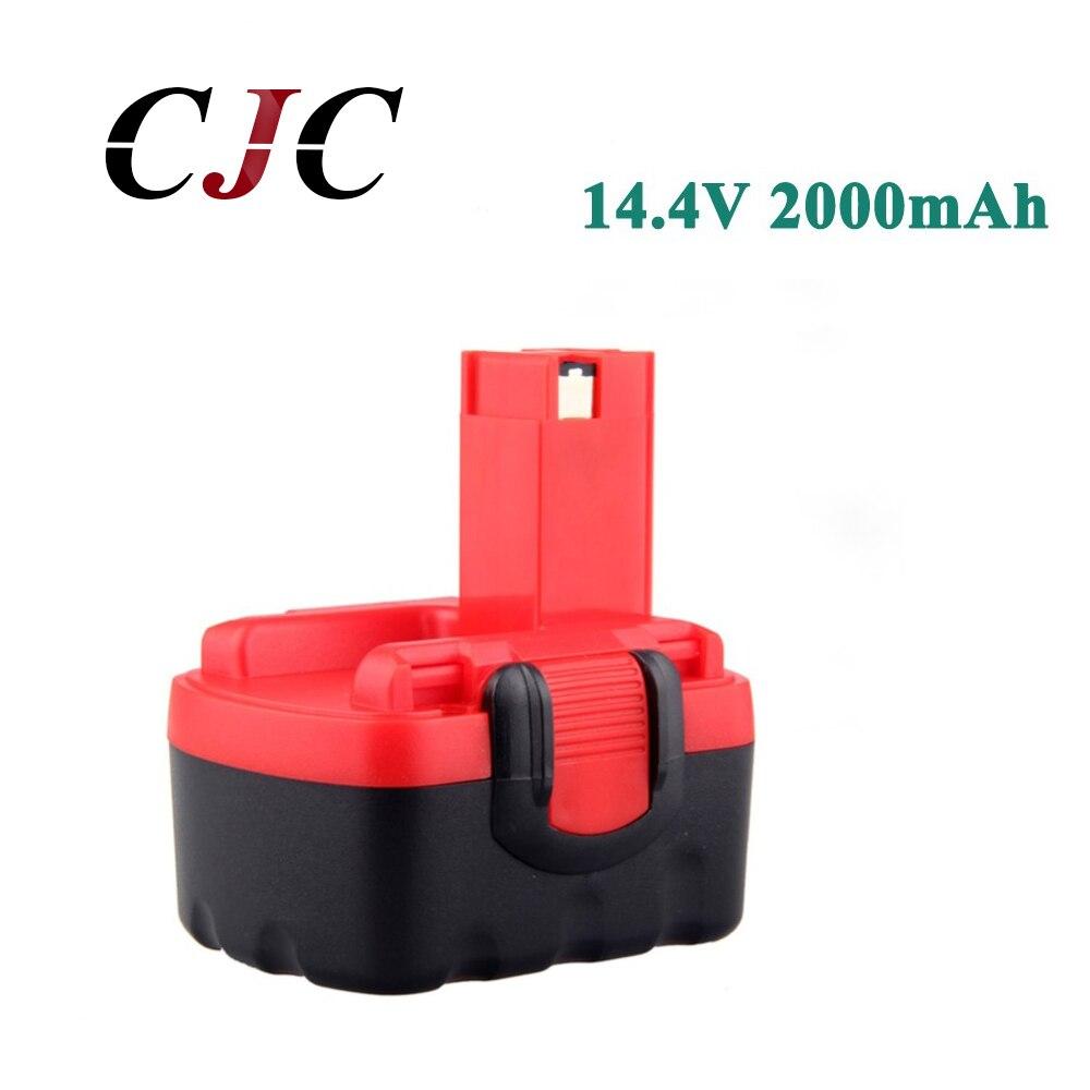 14,4 V 2000mAh Ni-CD аккумуляторная батарея для Bosch 26156801 3610-K10 3610K 3612 3615K PSR 14,4 VES-2 BAT040 BAT038