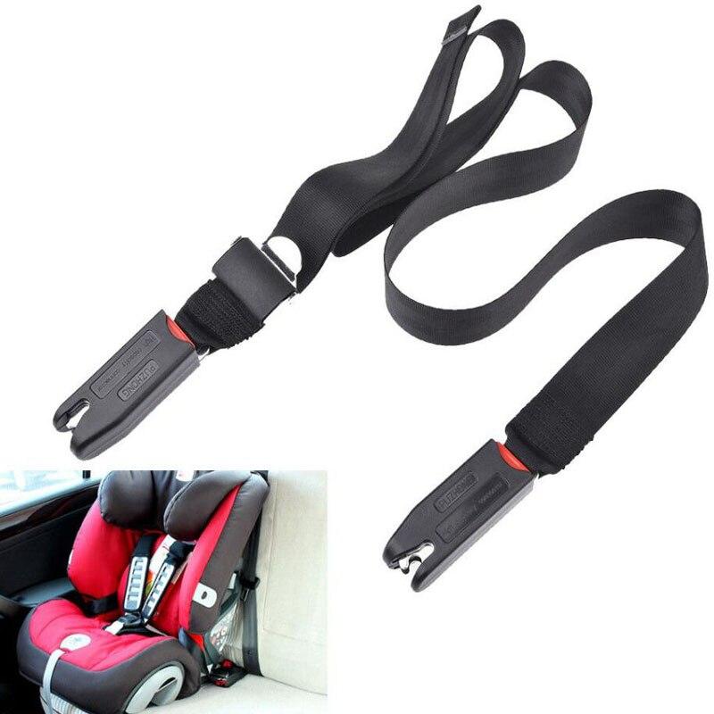 Banda de fijación de correa de conexión de interfaz suave con cierre Isofix para asiento de seguridad de coche