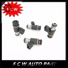 4pc/lot  FOR VW EuroVan Golf Jetta 2.8 V6 Magneti Marelli 215cc Fuel Injector IWP076 021906031D