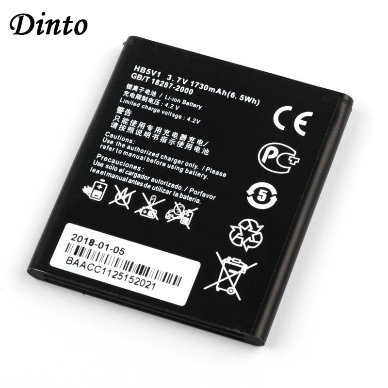 Dinto Neue HB5V1 Li-Ion Smartl Telefon Batterie für Huawei Ehre BEE Y511 Y518 Y300C Y516 Y535C Y500 G350 T8833 Y360-u61 y336-U02