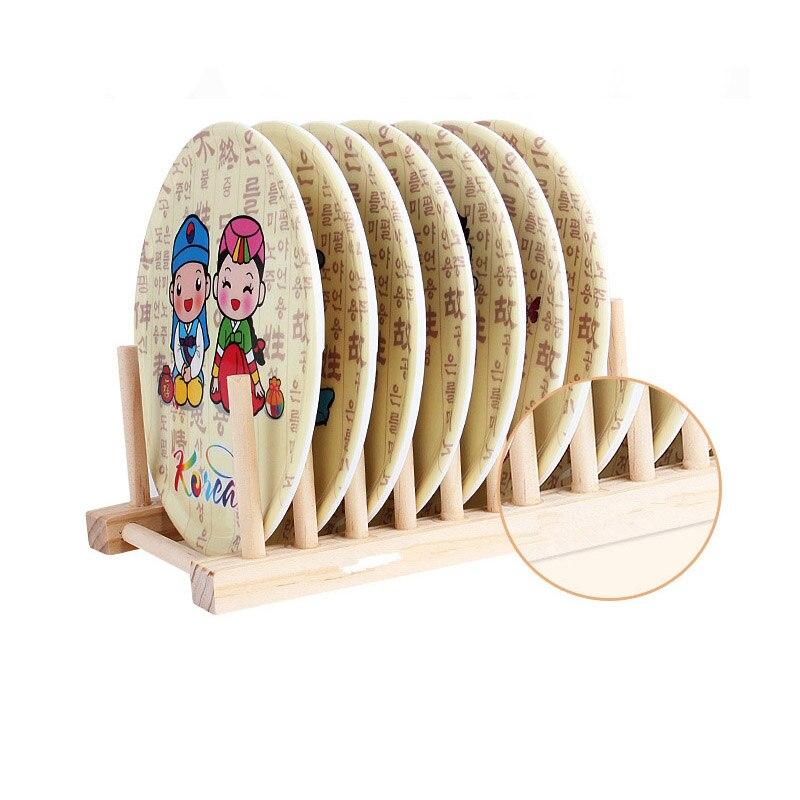 Чаша деревянный держатель для хранения сушилка НАД РАКОВИНОЙ КУХНЯ складное блюдо сушилка для тарелок сливный органайзер для кухонных принадлежностей