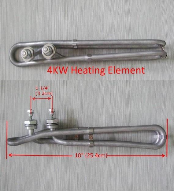 Pieza calefactora Balboa 4KW bañera de hidromasaje 4 KW piezas calefactoras para tinas de Spa Gecko M7 M3