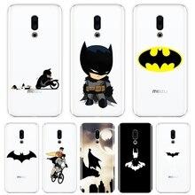 For Meizu U10 U20 Pro 6 7 Plus Case Silicone Soft Funny Marvel Batman Back Cover For Meizu 16th 16x 15 Lite 16 Plus Phone Case