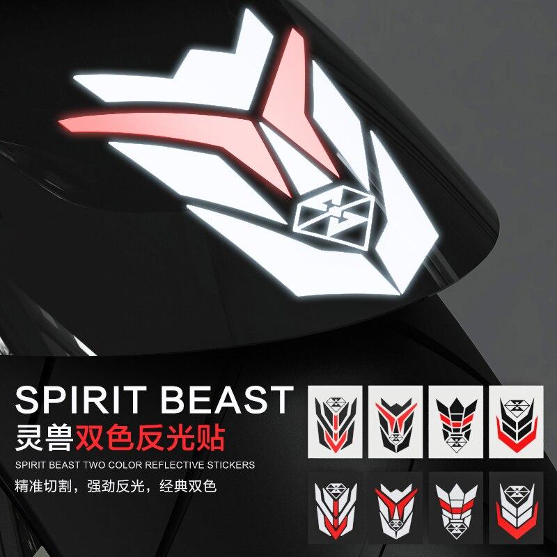 Motocicletas creativo noctilucan etiqueta para yamaha, suzuki, Honda, Kawasaki, Ducati KTM Scooter ATV