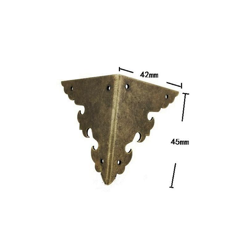 Оптом латунные уголки для мебели, треугольный уголок, подарок высококлассные декоративные, лист медные кошельки ластовица, предковая мебел...