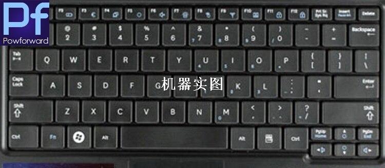 Protector de piel de la cubierta protectora del teclado del ordenador portátil para Samsung NB30 N148 N150 NB20 N158 N145 N102S