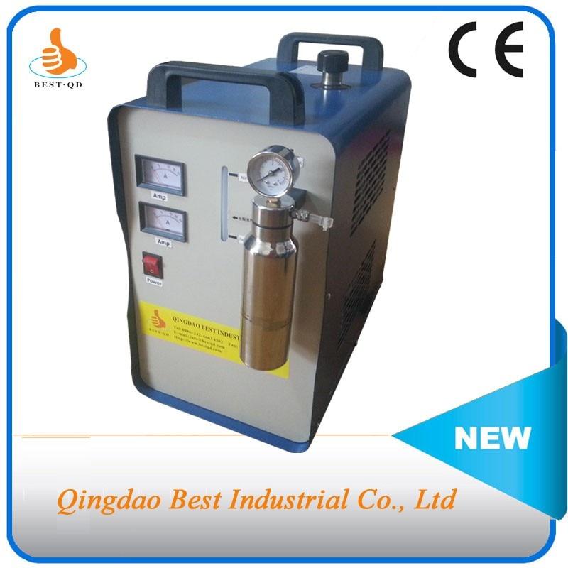 Venta envío gratuito AC110V americano Plug150L/hora de generación de gas HHO generador de Gas de apoyo 2 juegos de antorchas de llama, mientras tanto,