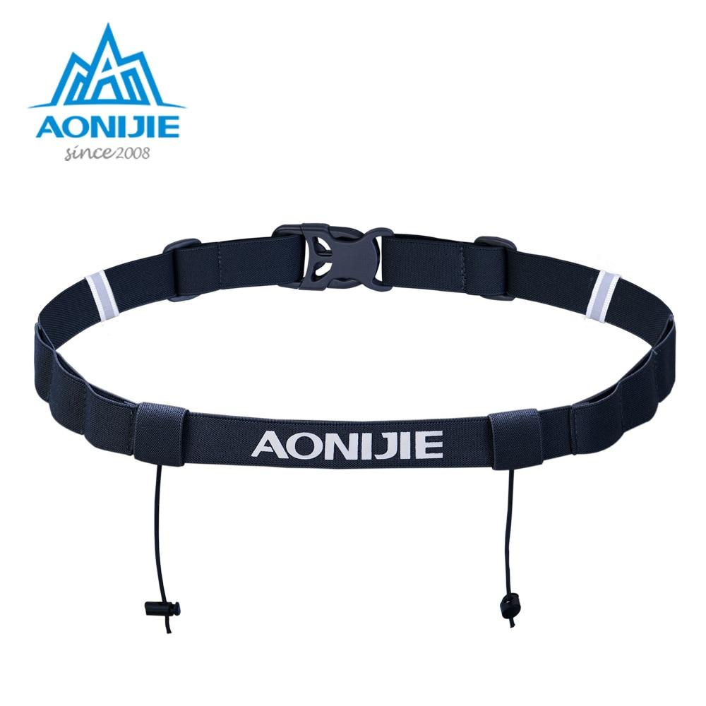 AONIJIE унисекс E4076 E4085 беговые гонки номер ремень поясная сумка нагрудник держатель для триатлона марафона велосипедный двигатель с 6 гелевыми петелями