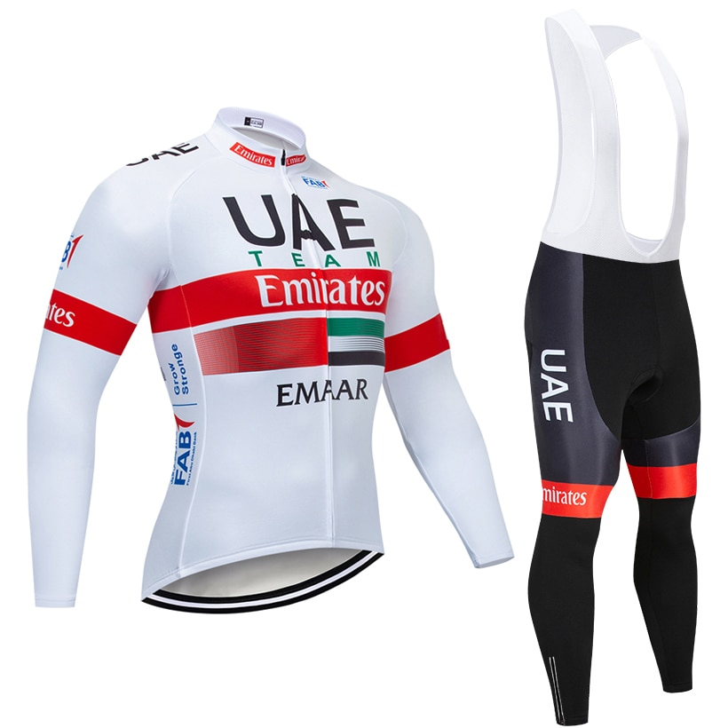 Nuevo UAE equipo Ciclismo chaqueta 20D bicicleta pantalones Ropa Ciclismo hombre invierno térmico polar pro Maillot de bicicleta Maillot Clothig