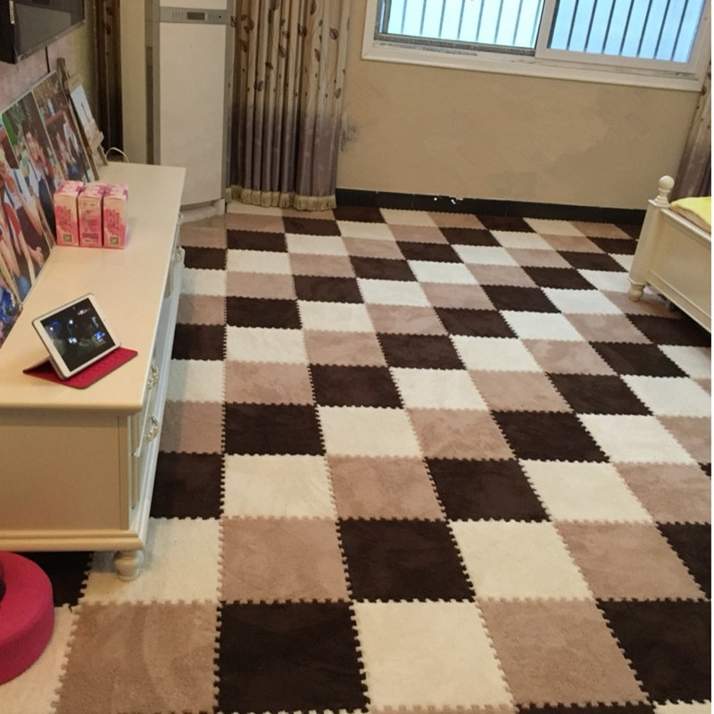 Tapis Infantil Tapete de espuma, Alfombra de puzle para juegos de bebés, alfombra para el suelo de la sala de estar para gimnasio de bebés Speelkleed