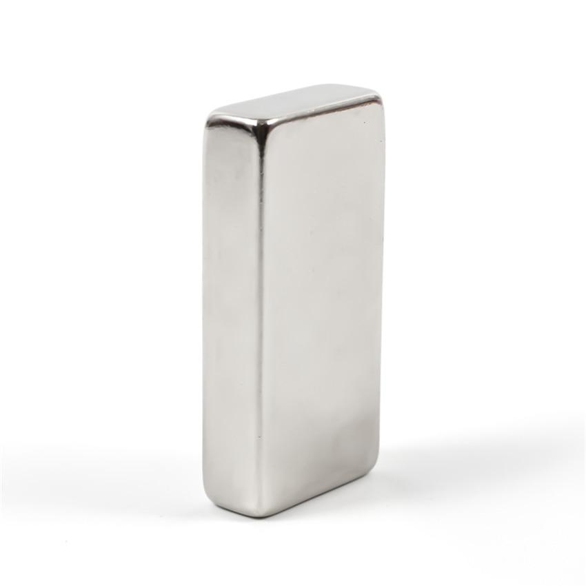 U-JOVAN 1pc 50 x 25 x 10 mm N35 Block Neodymium Magnet Rare Earth Magnets Permanet Super Strong Magnets 50*25*10mm