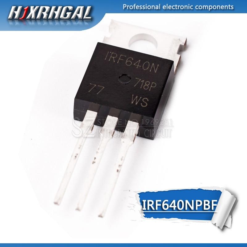 1 stücke IRF640NPBF TO220 IRF640N ZU-220 IRF640