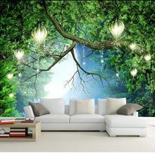 3D Wallpaper Beautiful Nature Scenery Fluorescent Mural Photo Wall Paper Living Room Kids Bedroom Home Decor Papel De Parede 3D