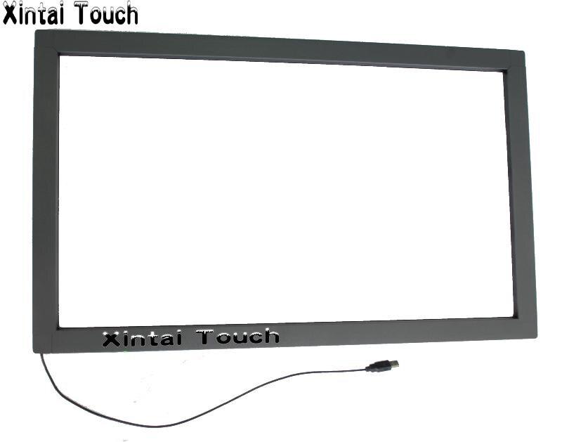 إطار شاشة متعدد اللمس بالأشعة تحت الحمراء مقاس 47 بوصة ، 6 نقاط لمس حقيقية ، إطار بدون زجاج ، تنسيق 16:9 ، شحن سريع
