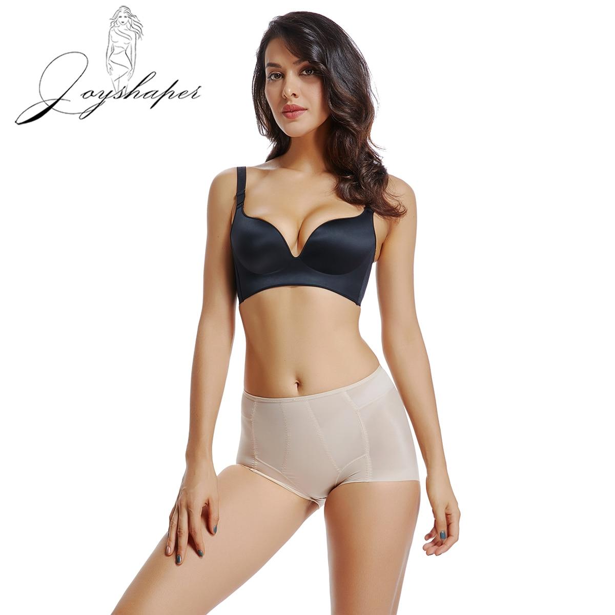 Joyshaper nuevas bragas para mujeres Plus tamaño transpirable bragas Tanga barriga Control Bikini elástico ropa interior Mujer ropa interior de moda Boyshorts