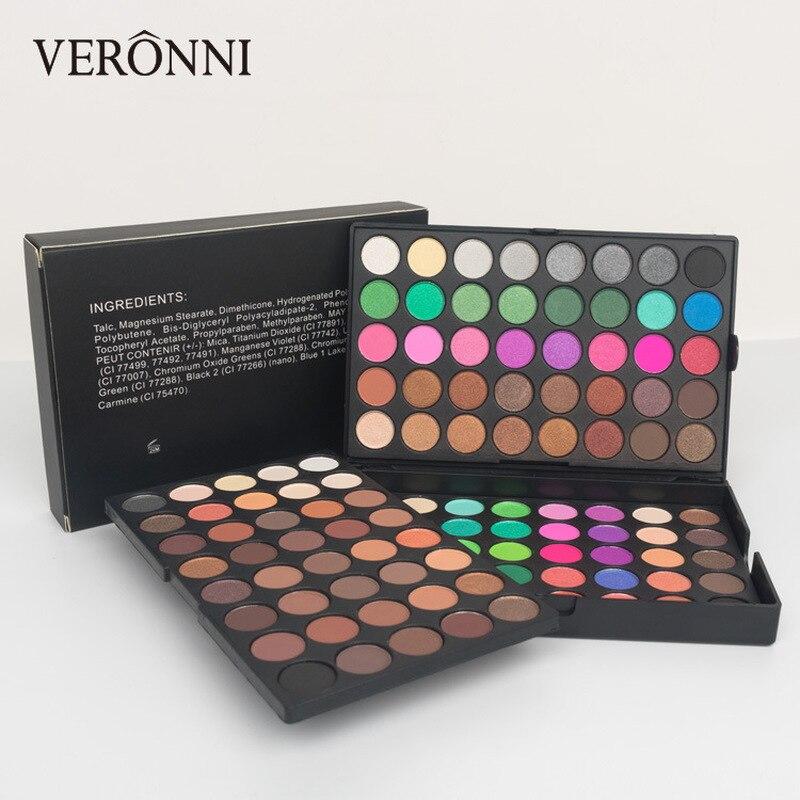 120 Colors Eyeshadow Palette Women Professional Full Eyes Makeup Matte Shimmer Glow Set Eye Shadow Pallete Cosmetic