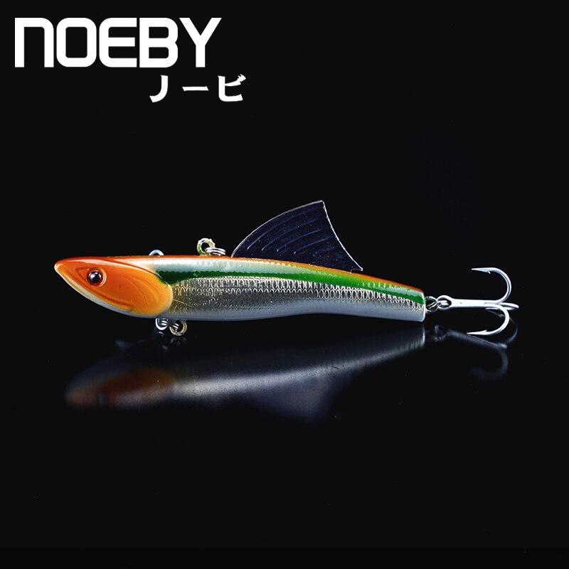 NOEBY 1Pcs Fishing Lure 90mm/30g 0.5-2.0m Sinking Super VIB Lures Isca Fins Hard Baits VMC Treble Hooks Crankbait Leurre Wobbler