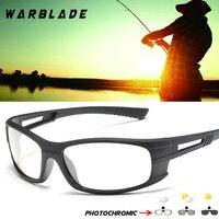 WarBLade Photochromic Polarized Cycling Sunglasses 2018 Women Man Sports Bike Bicycle Glasses UV400 Driving Eyewear B1060