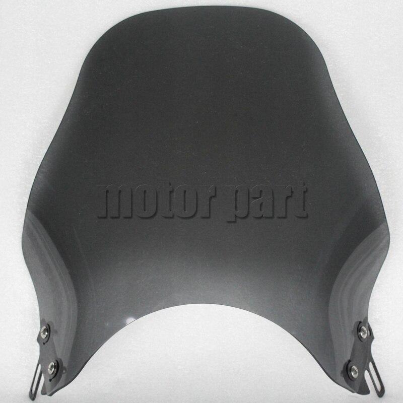 Дефлекторы для ветрового стекла мотоцикла, для Кавасаки ZR750 ER5 ZRX 1100 1200 400 ZR7 ZR550 Zephyr 750 550, дымовые