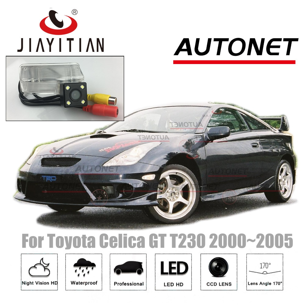JiaYiTian камера заднего вида для Toyota Celica GT T230 2000 ~ 2005 CCD камера ночного видения парковочная камера номерной знак камера