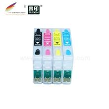 (RCE711-714) refill ink cartridge for Epson T0711 T0712 T0713 T0714 71 D120 D78 D92 DX4000 DX4050 DX4400 DX4450
