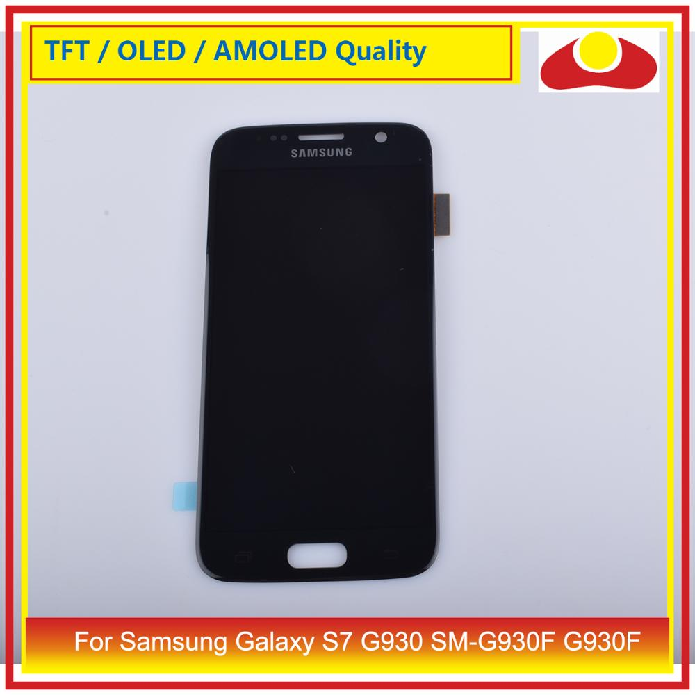 Original For Samsung Galaxy S7 G930 SM-G930F G930F LCD Display With Touch Screen Digitizer Panel Pantalla Complete enlarge