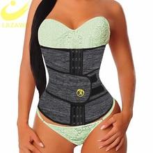 LAZAWG femmes taille formateur néoprène ceinture perte de poids Cincher corps Shaper ventre contrôle sangle minceur sueur graisse brûlant ceinture