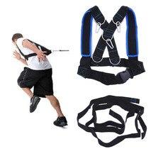 Speed Running Training Slee Schouder Harnas Sport Accessoires Gewicht Lager Vest Home Gym Fitness Body Building Apparatuur