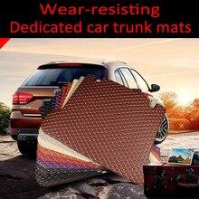 Custom fit car Trunk mats for Volkswagen CC Eos Golf  Passat Tiguan  sharan 5D  carpet floor liner