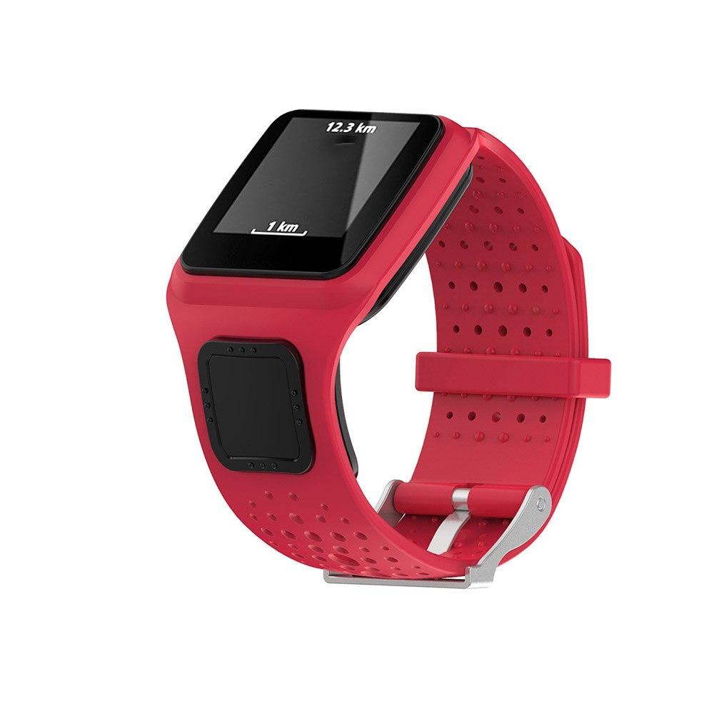 De silicona suave bandas para reloj Correa reemplazable para TomTom Multi-Deporte/corredor/Cardio GPS pulsera Smartwatch