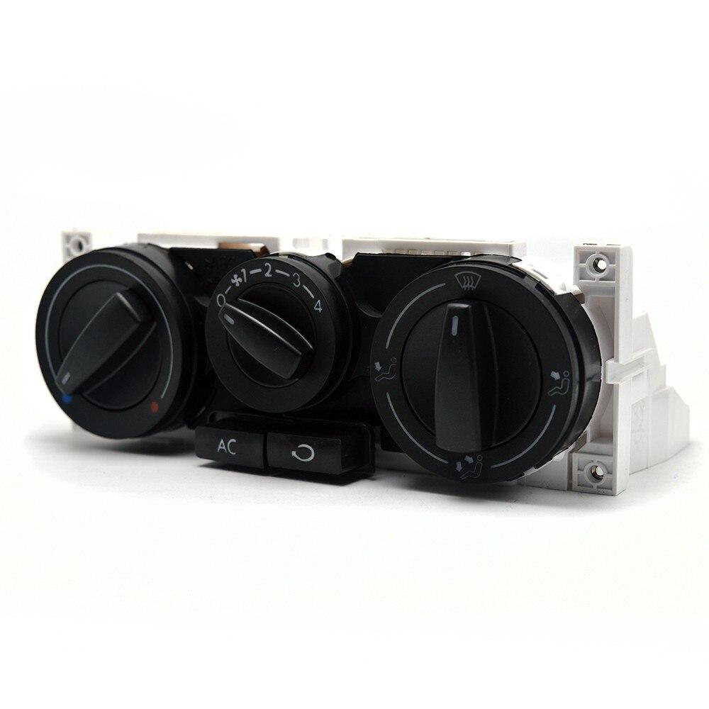 Estilo de coche nuevo barato central A/C calentador Control/climatizador para VW Volkswagen Golf 4 Lupo Jetta + 1J0 820 045F 1J0920045F