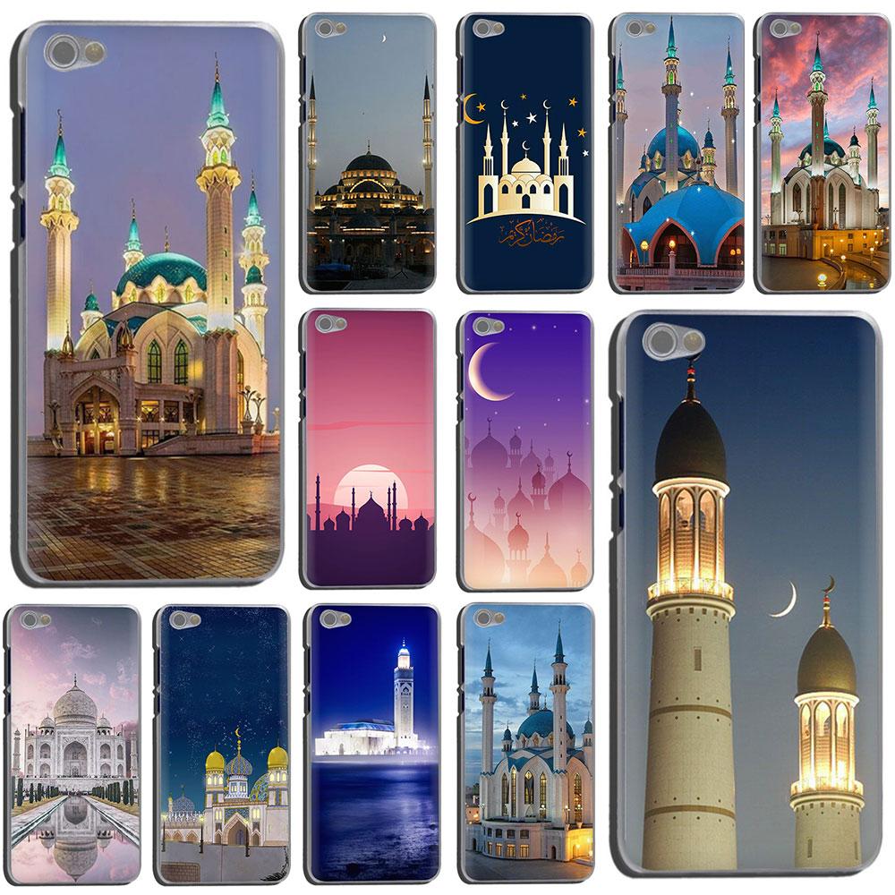 Landscape Muslim Mosque Building Hard Phone Cover Case for Xiaomi Redmi 5 Plus GO 6A S2 Note 8 5 6 7A Pro 4x K20 pro