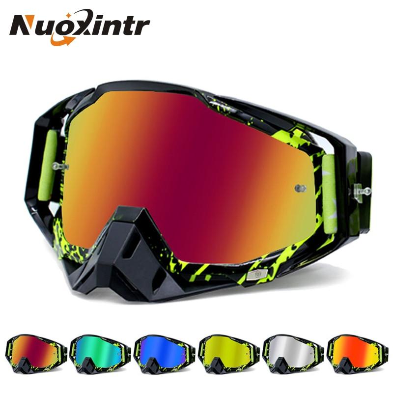 Nuoxintr ROAOPP Brand Motorcycle Goggles ATV Off-Road Helmet Ski Casque Motorcycle Glasses Racing Moto Bike Sunglasses