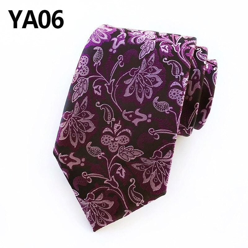 Plaid Tie Woven Classic Stripe Men's Necktie for Men Business Tie Fashion Silk Tie Men Luxury Neck Tie недорого